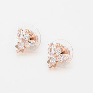 Swarovski Magic Angel Stud Pierced Earrings